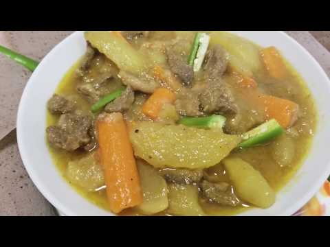 Ethiopian food/ How to make potato stew with carrots & meat/ድንች በካሮት እና በስጋ