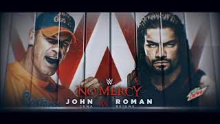 NO MERCY 2017 JOHN CENA VS ROMAN REINGS HIGHLIGHTS HD