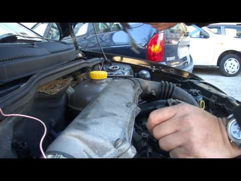 Verificação e mudança de vela em Corsa B 1.5TD Isuzu x15DT Change Glow plug diesel