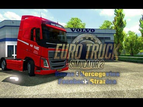 Volvo FH 2012 Nur Trans Red Skin