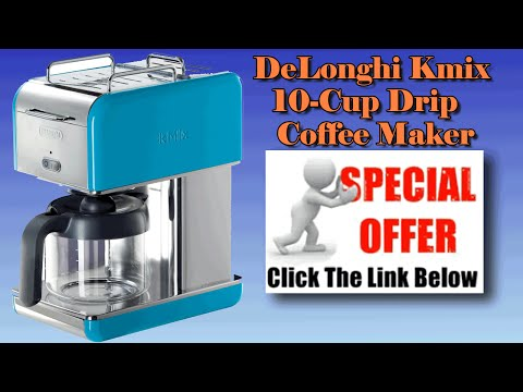 Best Coffee Makers - DeLonghi Espresso Machines -DeLonghi Kmix 10 Cup Drip Coffee Maker