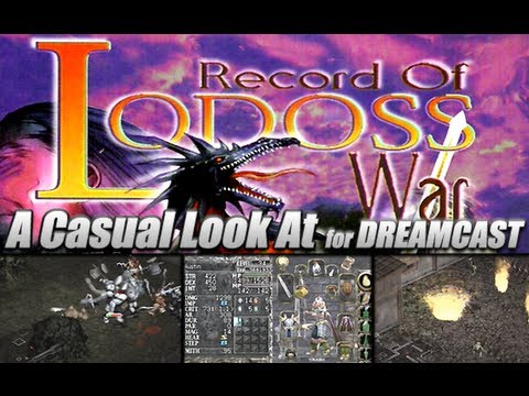 record of lodoss war dreamcast gameplay
