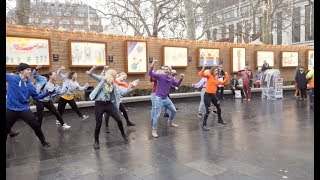 Video Perfect Proposal Flash Mob in Leicester Square! MP3, 3GP, MP4, WEBM, AVI, FLV Maret 2019