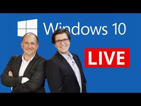 conférence - Pour plus d'infos sur cette vidéo de 01NETTV, cliquez ici : http://www.01netTV.com Pendant une heure, toute l'équipe de 01net.com se mobilise pour vous faire vivre les annonces de Microsoft...