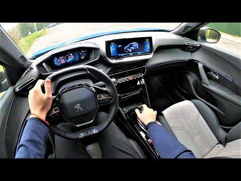 Peugeot e-2008 GT (Full Electric) - POV Test Drive. Impressive ride quality! Peugeot GoPRO driving.