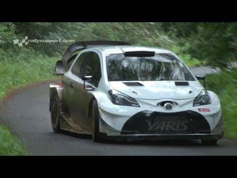 LATVALA   TEST WRC ADAC RALLYE DEUTSCHLAND 2017   TOYOTA YARIS WRC