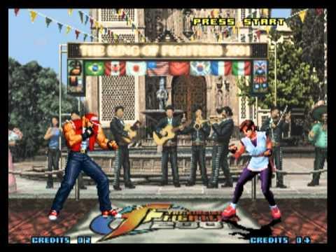 king of fighters 2001 plus neo geo