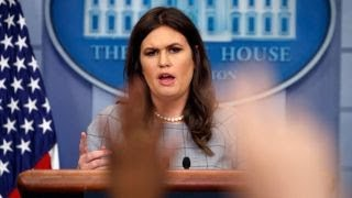 Video After Trump's vulgar comments, Sarah Sanders in for a 'brutal' press briefing MP3, 3GP, MP4, WEBM, AVI, FLV Januari 2018
