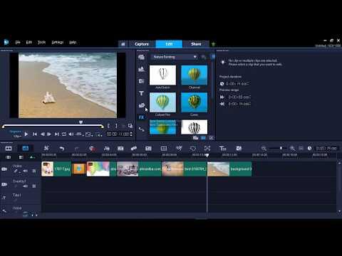 الدرس اول شرح تصميم علي برنامج|Corel VideoStudio 2018