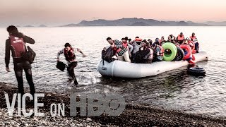 With the war in Syria now in its fifth bloody year, half the country's population has been displaced, and four million have fled. Many are heading to the safety and relative prosperity of Europe, but getting there is a long, life-threatening journey. VICE follows the refugee trail from the Syrian border to Europe, meeting Syrians determined to find a better life.The bloody ISIS attacks in Paris stunned the world. As rumors circulated that one of the attackers may have posed as a Syrian migrant, politicians in Western countries, including the U.S., raced to declare their territory off-limits to refugees from countries like Syria and Iraq. VICE travels to France and around the U.S. to see how the global reaction to the violence in Paris is affecting the fight against terrorism.Click here to subscribe to VICE: http://bit.ly/Subscribe-to-VICECheck out our full video catalog: http://bit.ly/VICE-VideosVideos, daily editorial and more: http://vice.comMore videos from the VICE network: https://www.fb.com/vicevideoLike VICE on Facebook: http://fb.com/viceFollow VICE on Twitter: http://twitter.com/viceRead our Tumblr: http://vicemag.tumblr.comFollow us on Instagram: http://instagram.com/viceCheck out our Pinterest: https://pinterest.com/vicemagDownload VICE on iOS: http://apple.co/28VgmqzDownload VICE on Android: http://bit.ly/28S8Et0