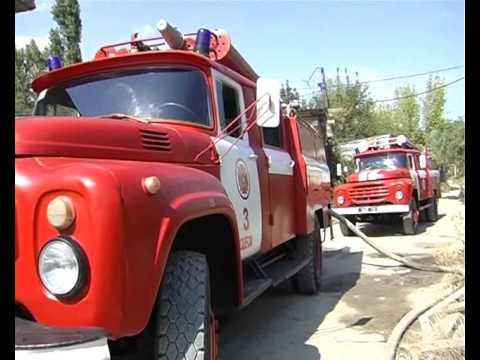 Крупный пожар в Одессе (ВИДЕО)