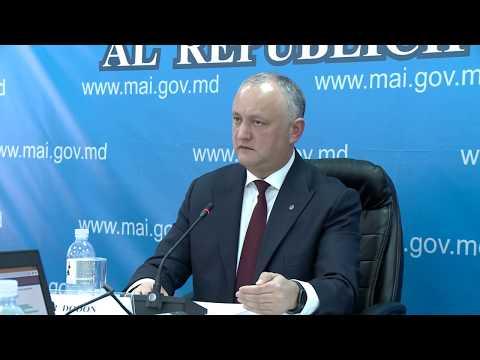 Президент Республики Молдова передал на рассмотрение Комиссии по чрезвычайным ситуациям ряд решений
