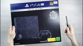PlayStation 4 Pro  - KINGDOM HEARTS III DELUXE EDITION - CONSOLE UNBOXING + GAMEPLAY - 4K 60FPS