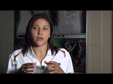 Notre Dame Women's Basketball Natalie Achonwa Olympic Dream