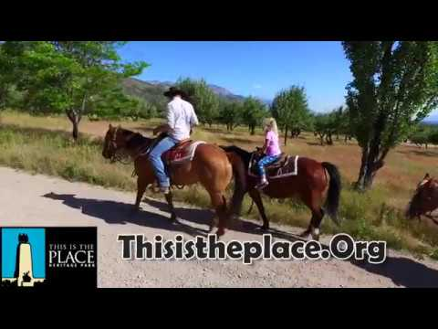 Utah Horse Back Riding * This is the Place Park * Horseback Riding for Children