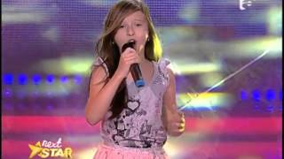 """Christina Aguilera - """"Hurt"""". Vezi aici cum cântă Alexandra Cojocariu la Next Star!"""