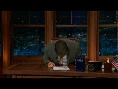 Craig Ferguson Loses it On The Late Late Show