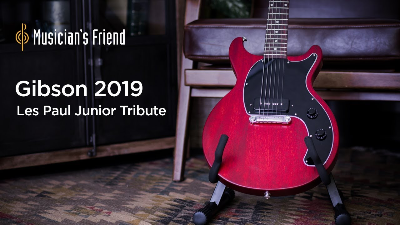Gibson 2019 Les Paul Junior Tribute DC Electric Guitar Demo