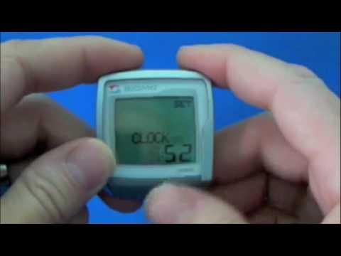 Sigma BC906 Programming video -BC 906