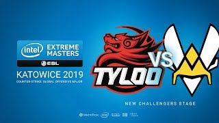 TyLoo vs Vitality, game 1