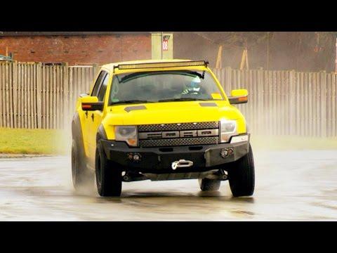 Stig Vs the Hennessey VelociRaptor – Series 22 Episode 6 Behind the Scenes – Top Gear