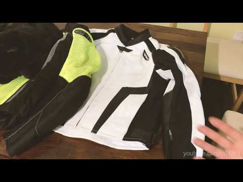 Proper Riding Gear - Motorcycle Jacket For Summer Hot Weather Riding