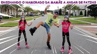 Video ENSINANDO O NAMORADO DA MAMÃE A ANDAR DE PATINS ♥ Teaching mom's boyfriend to skateboarding MP3, 3GP, MP4, WEBM, AVI, FLV Februari 2019