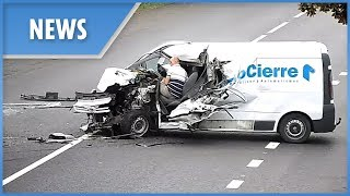 Oszukał przeznaczenie. Po tym wypadku kierowca jakimś cudem nie doznał żadnych obrażeń