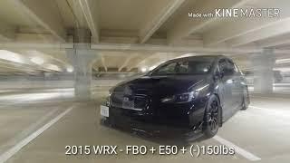 6. 2015 Subaru WRX (e50) vs EVO 9 (e85)