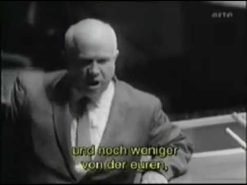 Знаменитая речь Никиты Хрущева, СССР, история, видео хроника. (видео)