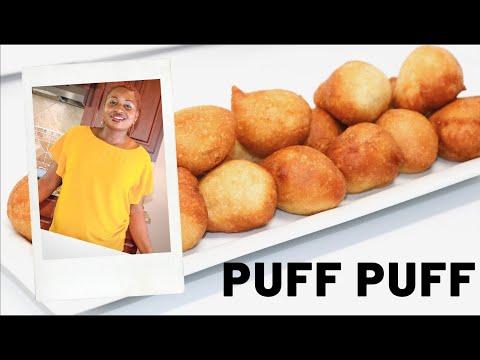 EASY DELICIOUS SMALL CHOPS - PUFF PUFF (NIGERIAN RECIPE)