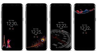 Video Download Custom Always on Display for Samsung Galaxy S8, S8+ and Note 8 MP3, 3GP, MP4, WEBM, AVI, FLV November 2017