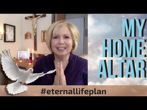 My Home Altar And How To Create Yours I Eternal Life Plan I Catholic