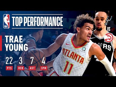 Video: Trae Young Tallies 22 Points and Hits Game-Winner from DEEP for Atlanta | 2018 NBA Preseason