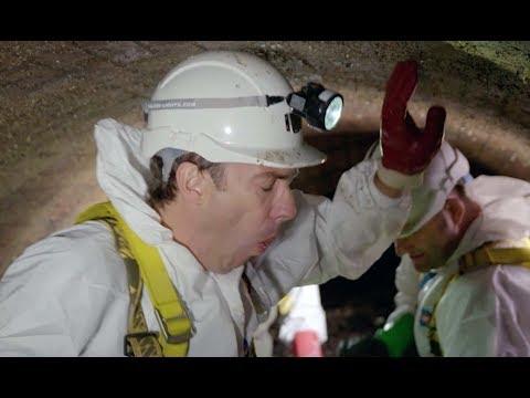 Työmiehet laskeutuvat Lontoon viemäriverkostoon – he tekevät löydön, joka saa minut oksennuksen partaalle