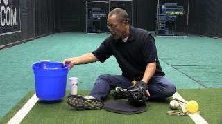 Wilson's Glove Guru, Shigeaki Aso, breaks in gloves for MLB stars such as C.J. Wilson, Brandon Philips, David Wright, and ...