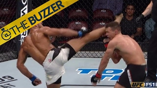 This Head Kick Landed By Thiago Santos Is A Work Of Art | @TheBuzzer | FOX SPORTS