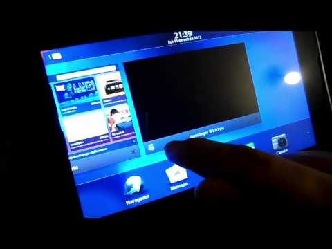 Actualización BlackBerry PlayBook 2.1 compatibilidad  Android