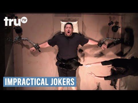 Impractical Jokers - Creepy Cat Attack (Punishment)   truTV
