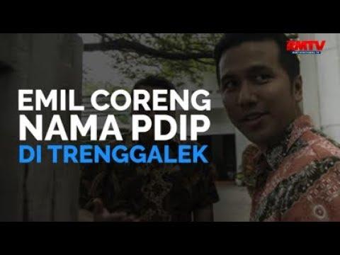 Emil Coreng Nama PDIP Di Trenggalek