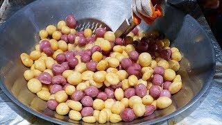 Video Taiwanese Street Food - FAST FRUIT CUTTING SKILLS Tainan Taiwan MP3, 3GP, MP4, WEBM, AVI, FLV Mei 2019