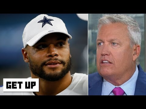 Video: Dak Prescott risks losing a huge deal with the Cowboys if he gets injured - Rex Ryan   Get Up