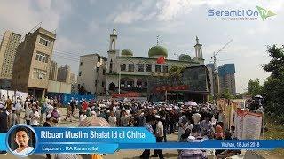 Begini Suasana Shalat Idul Fitri di China