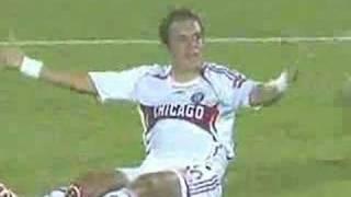 Futbolista Santiago Fernandez