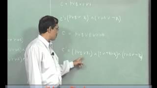 Mod-01 Lec-10 Lecture-10-SAT And 3SAT