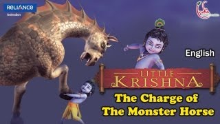 Video Little Krishna English - Episode 10 The Charge Of The Monster Horse MP3, 3GP, MP4, WEBM, AVI, FLV November 2018