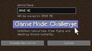 If CHALLENGE MODE was Added to Minecraft