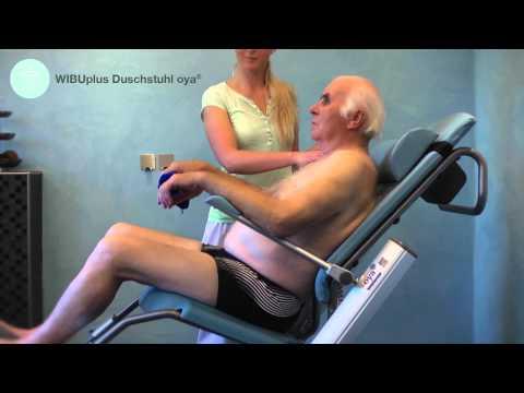 Anwendung WIBUplus Duschstuhl oya®