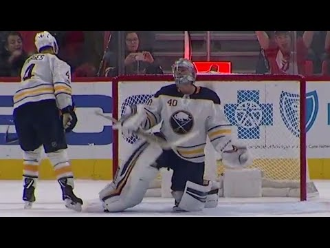 Video: Red Wings' Tatar beats Sabres' Lehner from way out to give his team the lead