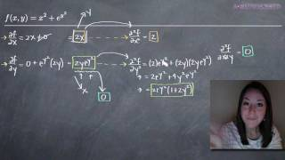 Second Order Partial Derivatives